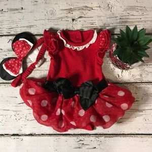 Infant Girl Minnie Tutu Dress